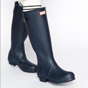 Hunter Original Tall Navy Matte Rain Boots